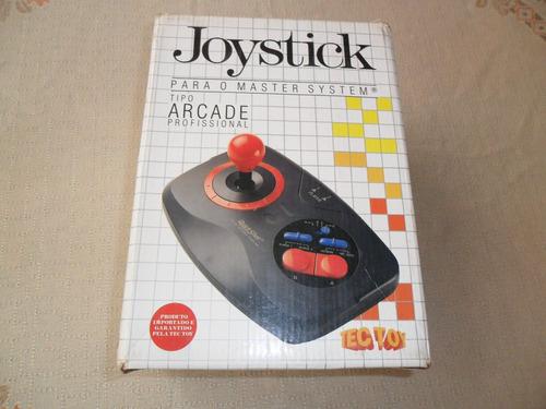 joystick master system tipo arcade profissional