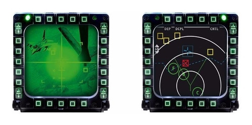 joystick mfd cougar simulador vuelo thrustmaster pack x2