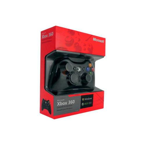 joystick microsoft 52a-00004 xbox 360 y pc alámbrico