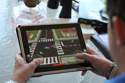 joystick p/ tablet controle ipad xoom galaxy genesis foston