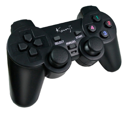 joystick para pc - kanji kj-702 usb negro - aj hogar