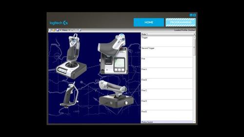 joystick pc logitech saitek x52 simulacion diginet