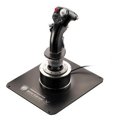 joystick pc simulador stick gamer vuelo warthog thrustmaster
