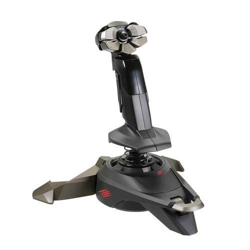joystick pc simulador voo manche saitek cyborg v1 + garantia