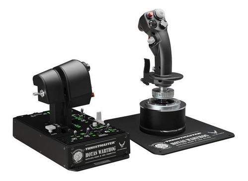 joystick pc warthog hotas thrustmaster simulador vuelo