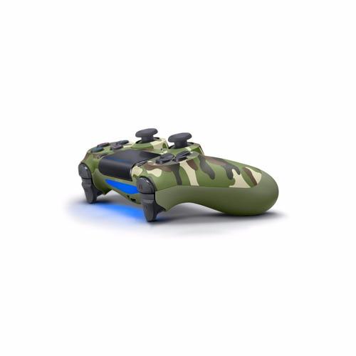 joystick ps4 bluetooth dualshock camuflado garantía oficial