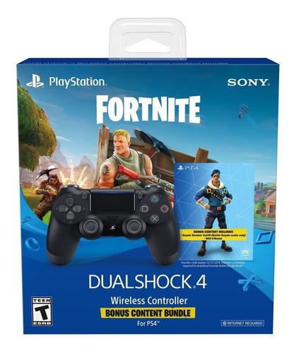 joystick ps4 edicion fortnite bonus pack original