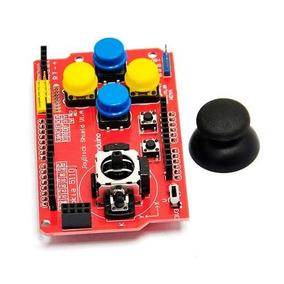 Joystick Shield Para Arduino Nrf24l01 Nokia 5110 Bluetooth
