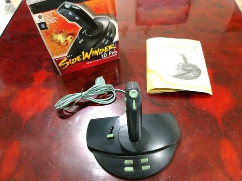 joystick sidewinder 3d pro + regalo