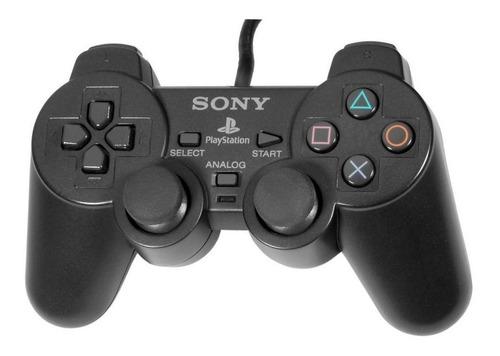 joystick sony dualshock 2 negro