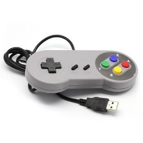 Joystick Super Nintendo Snes Usb Emul Pc Retropie Recalbox