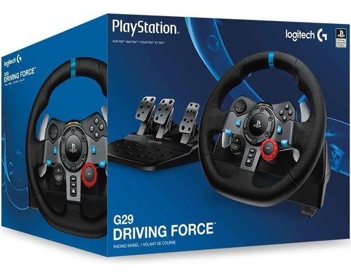 joystick volante logitech g29 para playstation 4 ps3 pc