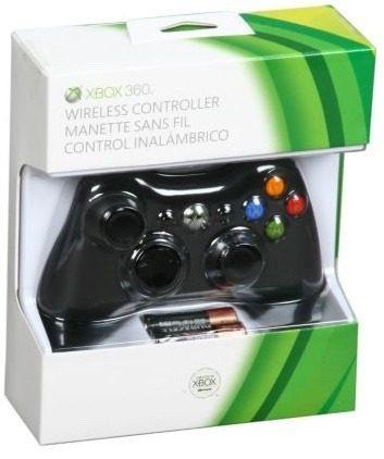 Joystick Xbox 360 Inalambrico Microsoft Original Caja