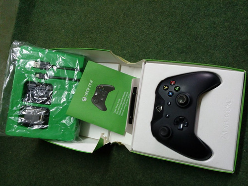 joystick xbox one mas kit de batería y cargador todo en 1