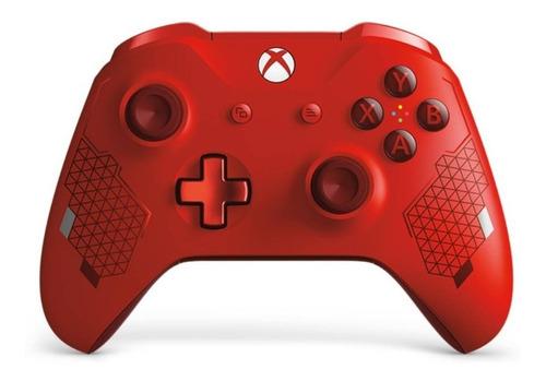 joystick xbox one s sport red original exclusivo tienda xbox