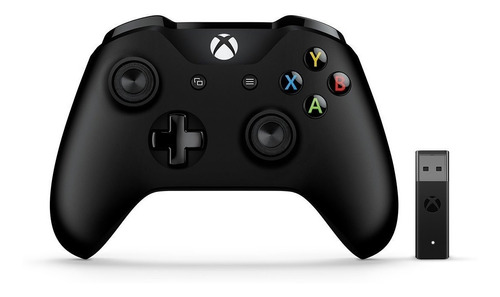 joystick xbox one wireless + adaptador para pc win 10