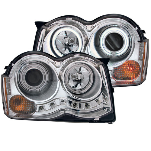 jp grand cherokee 08-09 projector h.l halo chrome(ccfl)