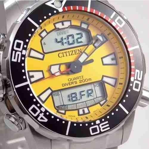 980f55050d7 Jp1090-86x Relogio Citizen Mergulho Aqualand Profundimetro - R ...
