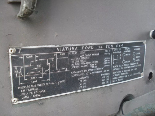 jpx,engesa,jipe willis 67 militar gasolina sucata sem doc.