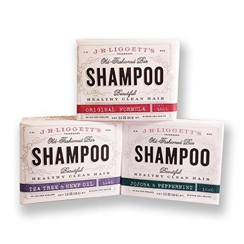 j.r. liggett's old fashioned shampoo bar 3.5 ounces variety
