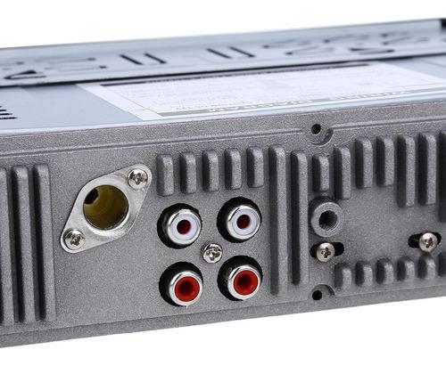 jsd - 520 bluetooth auto estéreo/4 bocinas/control remoto