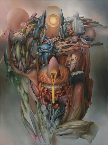 juan campodonico  dibujos y pinturas (surrealismo argentino)