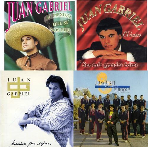 juan gabriel. 57 cds. la colección más completa!!. 4.50 gb