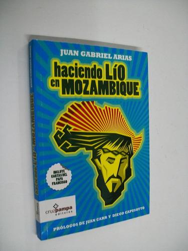 juan gabriel arias haciendo lio en mozambique - religion