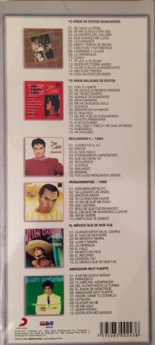 juan gabriel box 6 cds original nuevo