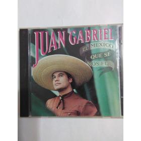 Juan Gabriel El México Que Se Nos Fue 1995  Bmg Cd
