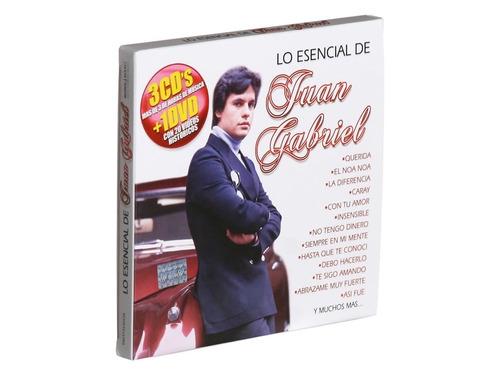 juan gabriel escencial 3cds + dvd