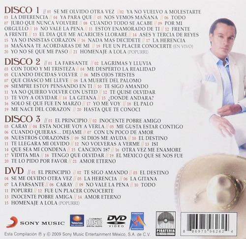 juan gabriel escencial rancheras 3cds + 1 dvd
