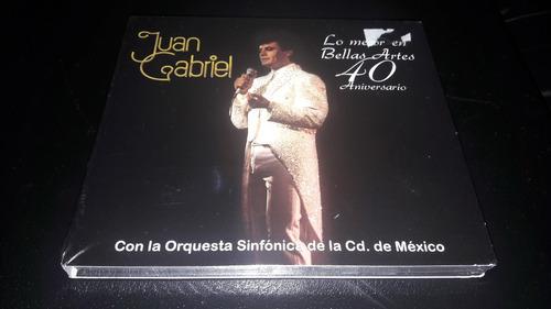 juan gabriel - lo mejor en bellas artes cd/dvd envio incluid
