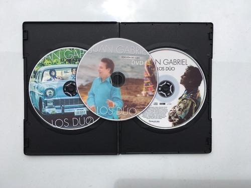 juan gabriel los duo vol.1 - vol.2 cd + dvd