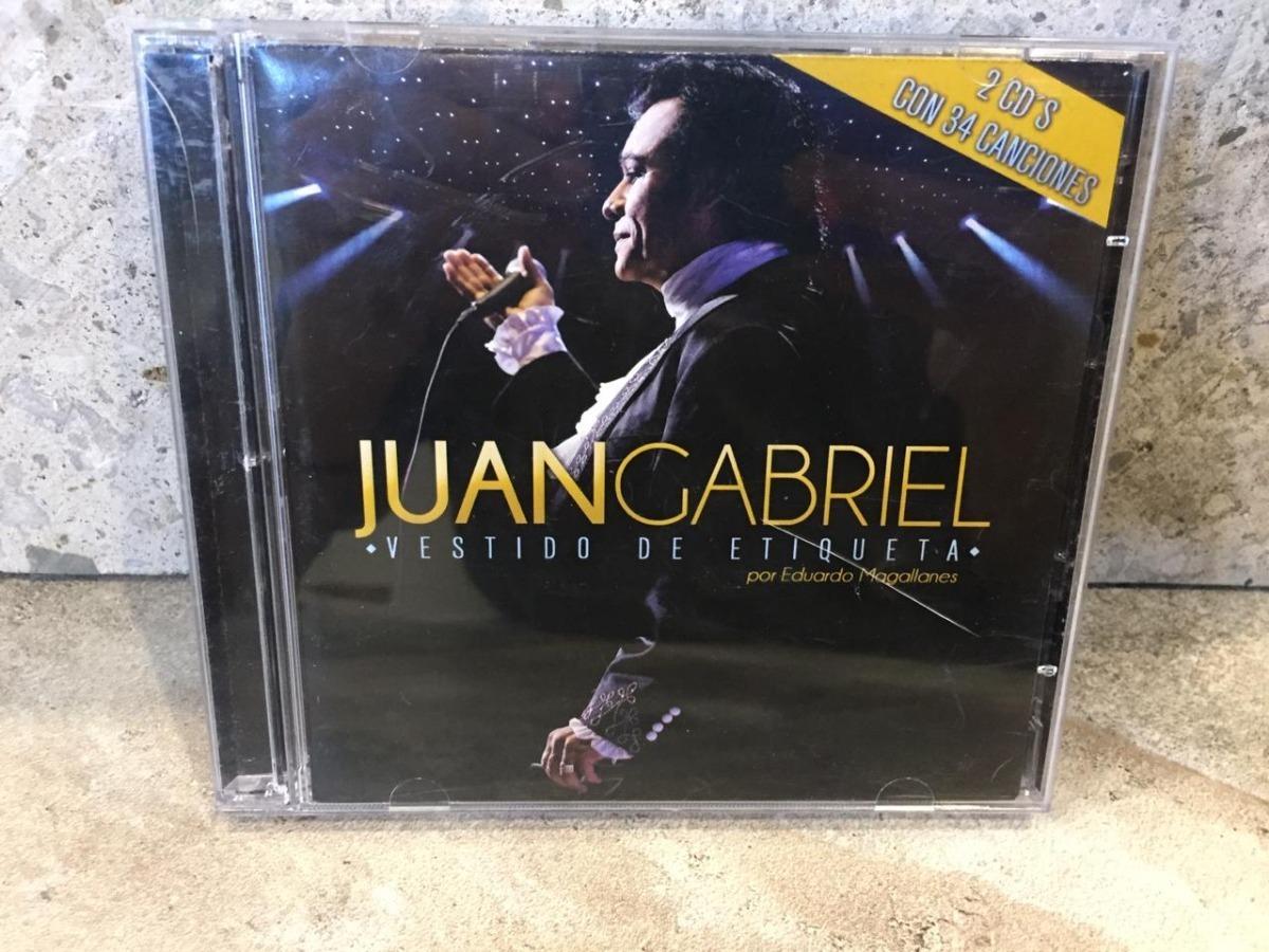 Juan Gabriel Vestido De Etiqueta 2 Cd