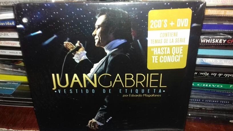 Juan Gabriel Vestido De Etiqueta Set 2cds1dvd Nuevo