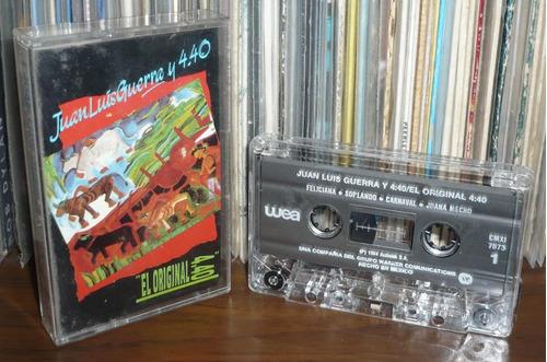 juan luis guerra y 4:40 cassette el original 4:40