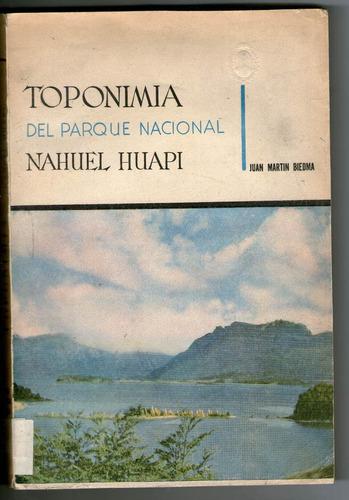 juan m biedma - topología del parque nacional nahuel huapi