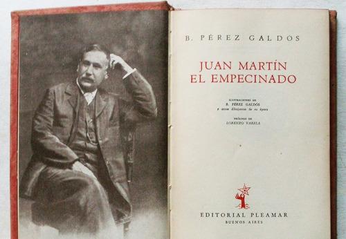 juan martín el empecinado / pérez galdós (ed pleamar 1945)