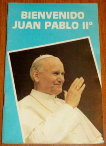 juan pablo ii - bienvenido a uruguay