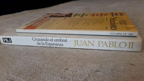juan pablo ii lote con libro + revista selecciones
