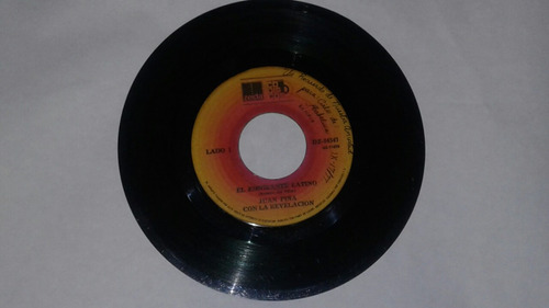 juan piña/ emigrante latino/ salsa/ vinilo 45 rpm/ 7  raro