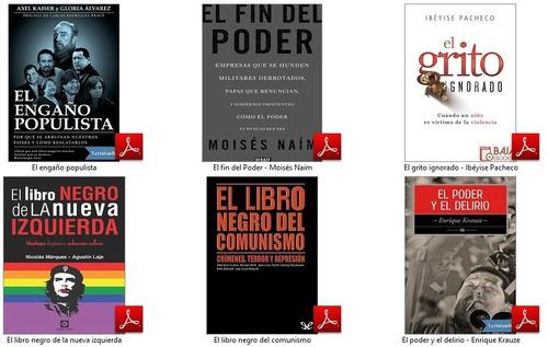 juan planchard + 25 libros sobre política nacional - pdf