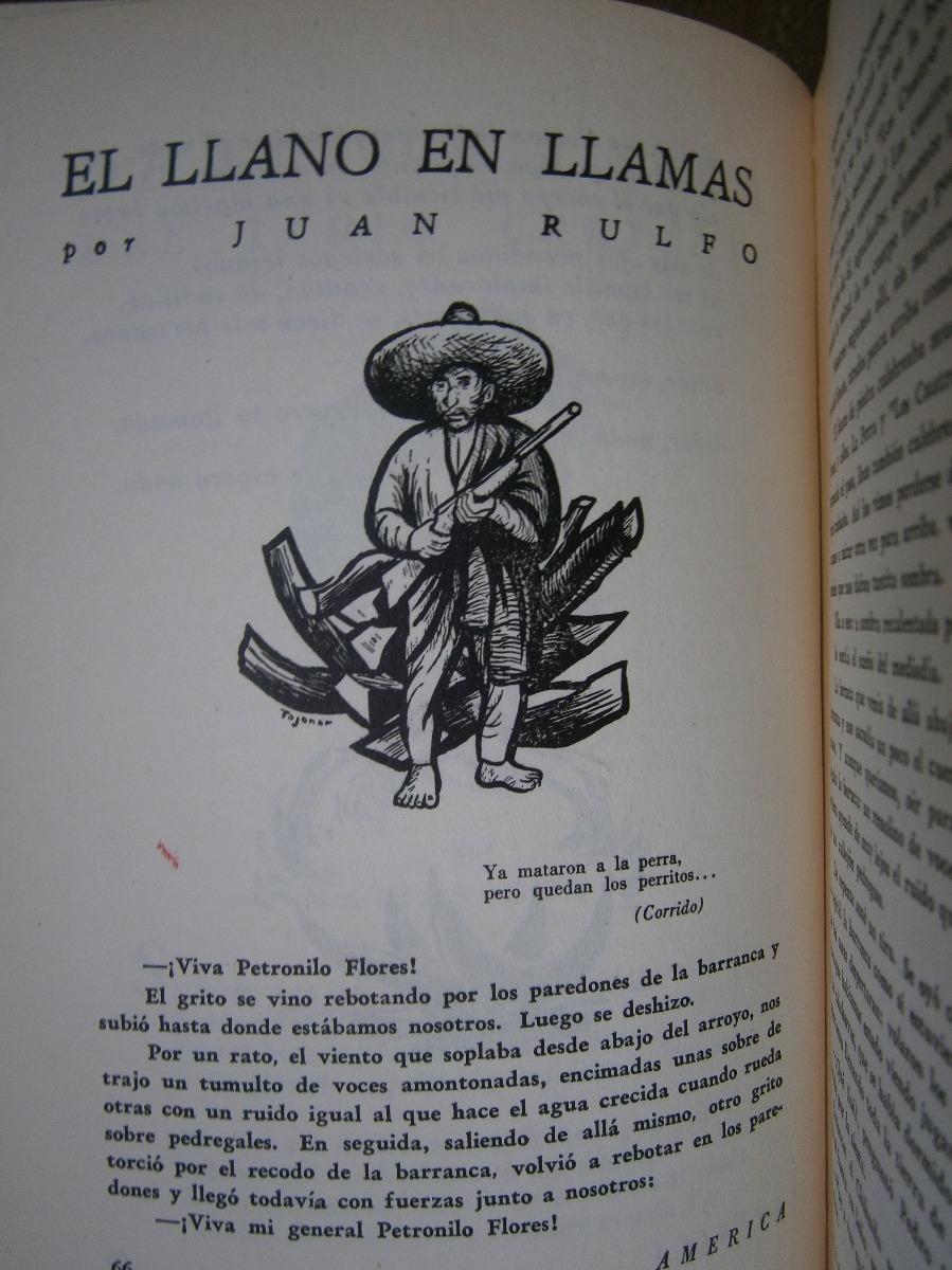 Juan Rulfo El Llano En Llamas 1950 Primera Publicacion