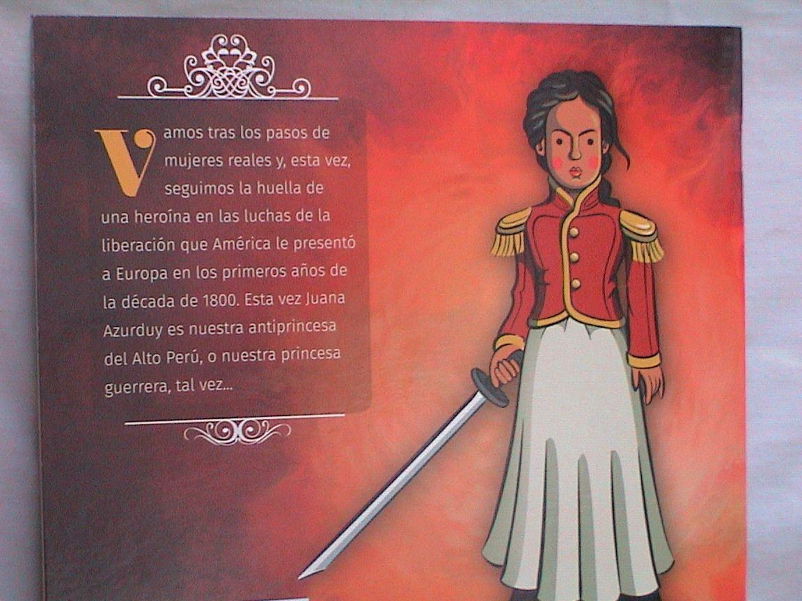 Juana Azurduy Colección Antiprincesas Sudestada Nvo No Envío