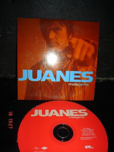 juanes -  cd single -mala gente