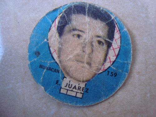 juarez 159 huracan figurita futbol album idolos 1962