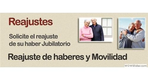 jubilaciones - pensiones - reajustes - liquidaciones