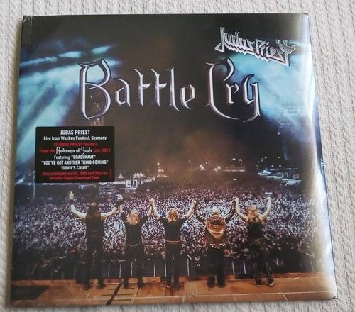 judas priest - battle cry (2 l p ed. europa 2016)