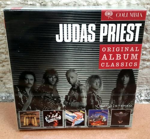 judas priest - box set (5cd remaster + bonus, ed europa)